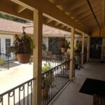 Pipestone Place Assisted Living Courtyard
