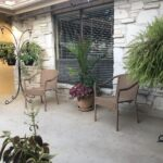 Pipestone Place Memory Care Courtyard Seating Area