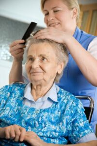 Assisted Living Caregiver with Senior